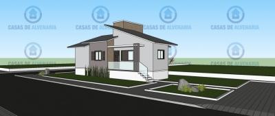 Casa com 178,72m²